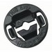Hubbell Electrical / RACO 4714 The Insider® NMSC Connector; 1/2 Inch, Thermoplastic, Black