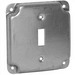 Hubbell Electrical / RACO 800C Raco® Crushed Corners Raised Exposed Square Surface Cover; 1/2 Inch Depth, Steel, 6.5 Cubic-Inch