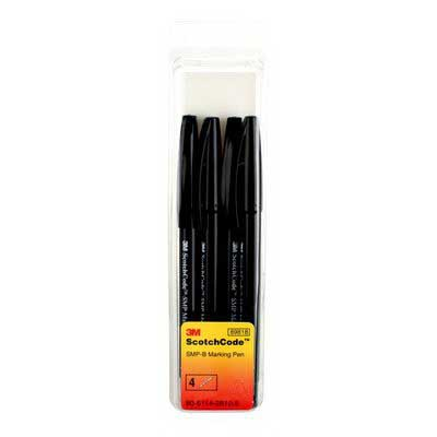 3M SMP-B ScotchCode™ Permanent Marker Pen; Black Legend
