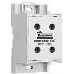 Bussmann PDBFS303 Enclosed Power Distribution Block/Finger Safe Assembly; 310 Amp, 600 Volt AC/DC (UL), 690 Volt AC/DC (IEC), DIN Rail/Panel Mount