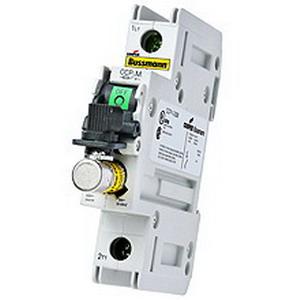 Bussmann CCP-1-30CC Compact Circuit Protector; 30 Amp, 600 Volt AC, 1-Pole, 35 mm DIN Rail Mount