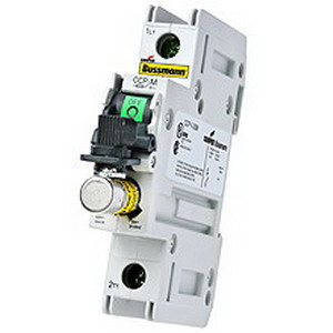 Bussmann CCP-3-30CC Compact Circuit Protector; 30 Amp, 600 Volt AC, 3-Pole, 35 mm DIN Rail Mount