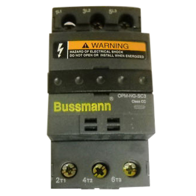Bussmann OPM-NG-SC3 Optima® Overcurrent Protection Module; 30 Amp, 600 Volt AC