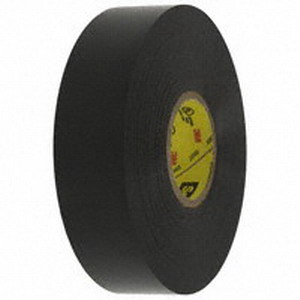3M 33+SUPER-3/4X66FT Scotch® 33+Super Series Premium Grade Vinyl Electrical Insulating Tape; 600 Volt, Black
