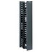 Panduit WMPV45E NetRunner™ Front and Rear Vertical Cable Manager; 45-Rack Unit, ABS Plastic, Black, Powder-Coated
