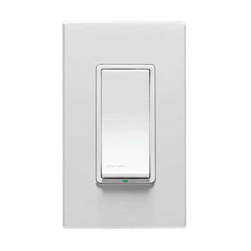 Leviton VPS15-1LX Vizia RF +® Electronic and Digital Start Type 3-Way Switch; 120 Volt AC LED White, Ivory and Light Almond