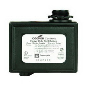 Cooper Lighting SP20-240 Greengate Model SP20-MV Heavy Duty Switch Pack; 120/277 Volt AC, 20 Amp