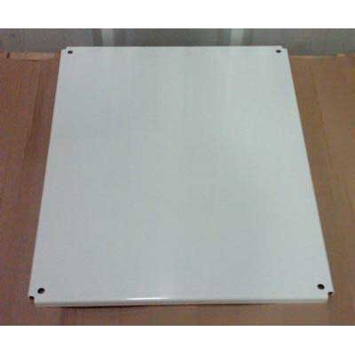 """""""""""Allied Moulded P3630CS Back Panel Carbon Steel, White Painted, 4 Screw Mount,"""""""""""" 102678"""