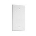 TayMac BC100WH 1-Gang Blank Cover; Steel, White, Screw Mount