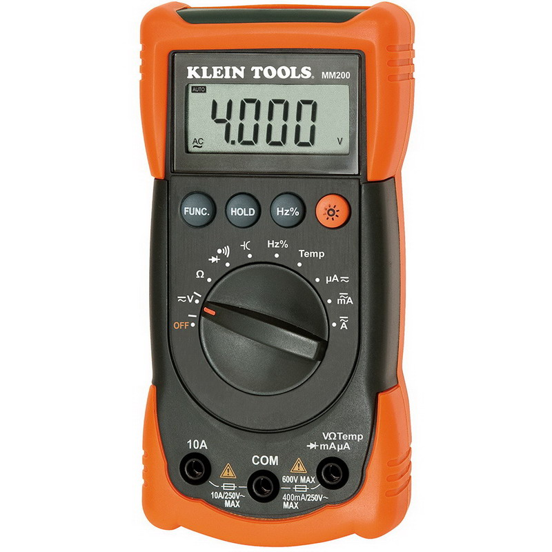 Multimeter farad
