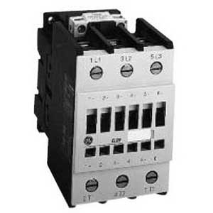 GE Controls CL06A311MJ Contactor; 3 Pole, 48 Amp At 460 Volt, Horizontal/Vertical Mount