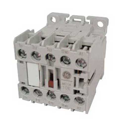 GE Controls MC0A310ATJ Mini Contactor; 3 Pole, 6 Amp At 460 Volt, Ceiling/Din Rail/Panel/Horizontal/Table Top Mount