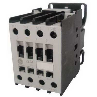 GE Controls CL04A310MJ Contactor; 3 Pole, 32 Amp At 460 Volt, Horizontal/Vertical Mount