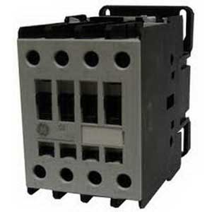 GE Controls CL45A310M1 IEC Contactor; 3 Pole, 34 Amp At 460 Volt, Horizontal/Vertical Mount