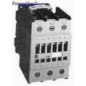 GE Controls CL07A311M1 IEC Contactor; 3 Pole, 62 Amp At 460 Volt, Horizontal/Vertical Mount