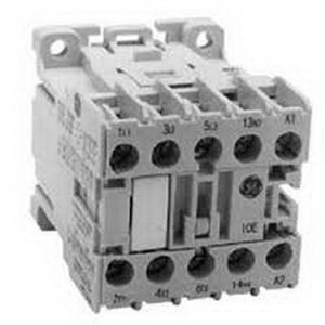 GE Controls MC1A310ATJ Mini Contactor; 3 Pole, 9 Amp At 460 Volt, Ceiling/Din Rail/Panel/Horizontal/Table Top Mount