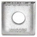 Superstrut AB241-3/8HDG AB241-Series Square Washer; 3/8 Inch, Steel, Hot-Dip Galvanized