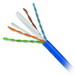 Genesis Cable 50922106 Category 6 Plus UTP 24/4 Riser Cable; 300 Volt, 4-Pair, 23 AWG, Solid Bare Copper, PVC Jacket, 0.240 Inch Dia, Blue