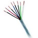 Genesis Cable 50781106 Category 5e UTP General Communication Cable; 300 Volt, 4-Pair, 24 AWG Solid, Bare Copper, PVC Jacket, 0.200 Inch Dia, Blue, 1000 ft Pull Box
