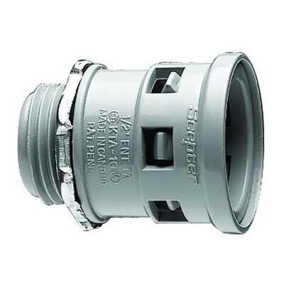 Scepter 189681 KTA30 Kraloy® Connector; 1-1/2 Inch, MNPT, PVC
