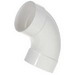 Scepter 078542 40STD1090 Kraloy® Standard Radius 90 Degree Conduit Elbow; 1 Inch, Spigot x Spigot, PVC, SCH 40