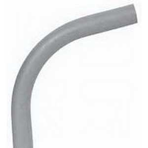 Scepter 078545 40STD2090 Kraloy® Standard Radius 90 Degree Conduit Elbow; 2 Inch, Spigot x Spigot, PVC, SCH 40