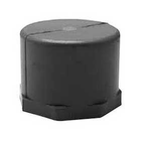 Scepter 078323 EC40 Kraloy® End Cap; 4 Inch, PVC