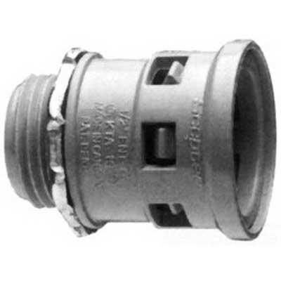 Scepter 089008 KTA20 Kraloy® Kwikon Connector; 1 Inch, MNPT, PVC