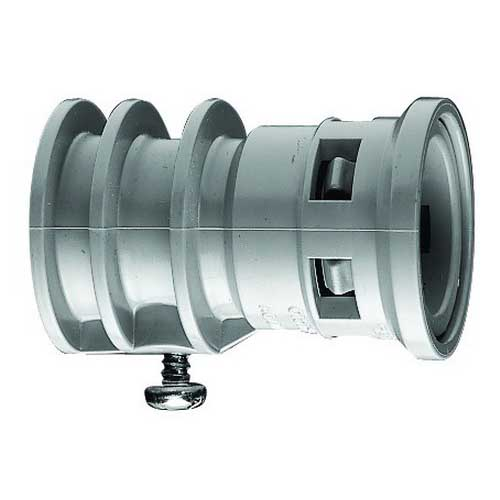 Scepter 089014 KTC20 Kraloy® Kwikon Transition Coupling; 1 Inch, Snap-In x Set Screw, PVC