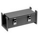Hammond 1485D120 1485 Series Lay-In Wireway; 120 Inch x 7.630 Inch x 7.630 Inch, 14 Gauge Steel, ANSI 61 Powder