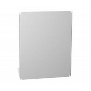 Hammond EP4836 EP Series Inner Panel; 12-Gauge Mild Steel, White Painted, Bolt-On Mount