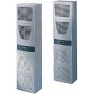 """""Rittal 3328510 Air Conditioner 115 Volt, 6830 BTU At 50 Hz/8026 BTU At 60 Hz, 1 Phase, RAL 7035 Light Gray,"""""" 104156"