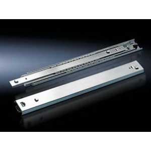 Rittal 7066700 Telescopic Slides; Sheet Steel, Zinc-Plated