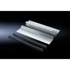 Rittal 8800680 Single Entry EMC Gland Plate Sheet Steel- Zinc-Plated-