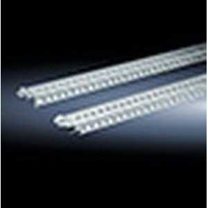 Rittal 8612280 TS Mounting Rail; Sheet Steel, Zinc-Plated