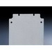 Rittal 1561700 Mounting Plate; 2-mm Sheet Steel, Zinc-Plated