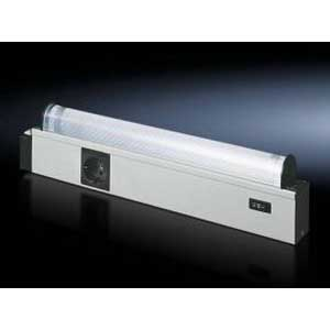 Rittal 4139140 Courtesy Fluorescent Light; Screw-Fastening, 452 mm Width x 50 mm Depth x 117 mm Height, Plastic Housing