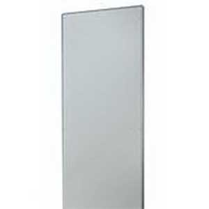 Rittal 8609850 TS Partition Wall; 14 Gauge Sheet Steel, Zinc-Plated, passivated
