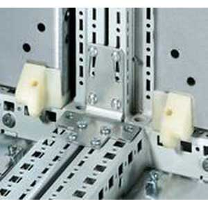 Rittal 8800430 Angular Baying Bracket; Screw, Sheet Steel, Zinc-Plated, Passivated