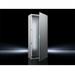 Rittal 8606500 Single Door Freestanding Enclosure; 23.600 Inch Width x 23.600 Inch Depth x 78.700 Inch Height, 16 Gauge Sheet Steel, RAL 7035 Light Gray