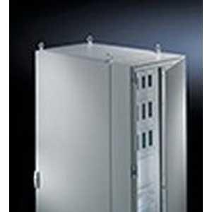 Rittal 8609020 Cover With Door; 1.5-mm Sheet Steel Cover, 2-mm Sheet Steel Door, RAL 7035 Light Gray