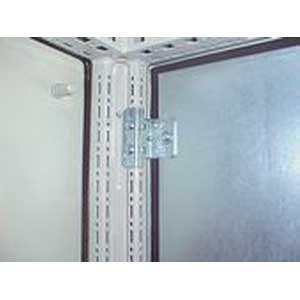 Rittal 8800470 Divider Wall Bracket; Sheet Steel, Zinc-Plated, Passivated