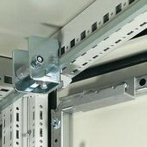 Rittal 4911000 Door Interlock Kit; Steel, Zinc-Plated