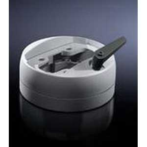 Rittal 6212300 Enclosure Coupling; Die-Cast Zinc, RAL 7035 Light Gray
