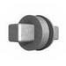 Rittal 2460000 7-mm Square Insert; 27 mm Length, Die-Cast Zinc