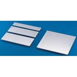 Rittal 5001215 Gland Plate 100 mm Depth Sheet Steel Zinc-Plated