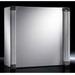 Rittal 6320400 AE Rear Door Command Panel; NEMA 12, 19.7 Inch x 19.7 Inch x 8.3 Inch, Sheet Steel Enclosure and Door, Powder-Coated