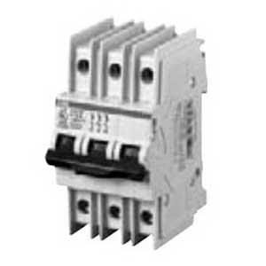 ABB S203UP-K10 BCPD Miniature Circuit Breaker; 10 Amp, 480Y/277 Volt AC, 3-Pole, DIN Rail Mount