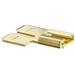 NSI DMT250-3-S Male/Female Adapter; 0.250 Inch x 0.032 Inch, Brass