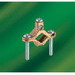 NSI G-1-S Bronze Ground Clamp; 1/2 - 1 Inch, 2 AWG stranded